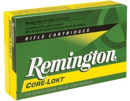 Remington Core-Lokt 140 gr Pointed Soft Point 7x64mm Brenneke Ammo, 20/box - R7X641