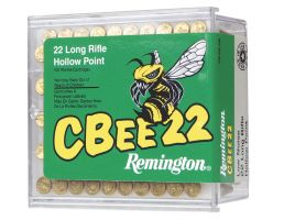 Remington CBEE 22 33 gr Plated Truncated Cone HP .22lr Ammo, 100/box - CB22L100