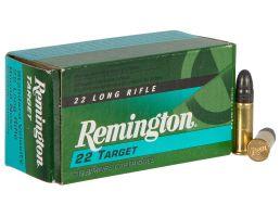 Remington 22 Target 40 gr Round Nose .22lr Ammo, 100/box - 6122