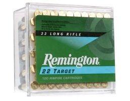 Remington 22 Target 40 gr Round Nose .22lr Ammo, 100/box - 6100