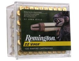 Remington 22 Viper 36 gr Truncated Cone Solid .22lr Ammo, 100/box - 1900