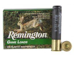 "Remington Lead Game Loads 2.5"" 410 Gauge Ammo 6, 20/box - GL4106"