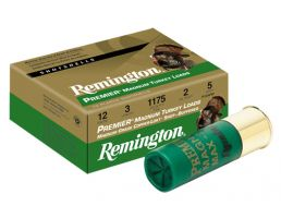 "Remington Premier High-Velocity Magnum Copper-Plated Turkey 3.5"" 12 Gauge Ammo 4, 10/box - PHV1235M4"