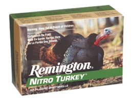 "Remington Nitro Turkey 3.5"" 12 Gauge Ammo 5, 10/box - NT12355"