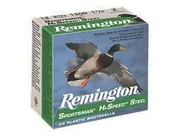 "Remington Sportsman, Hi-Speed Steel 3.5"" 10 Gauge Ammo BB, 25/box - SSTHV10B"