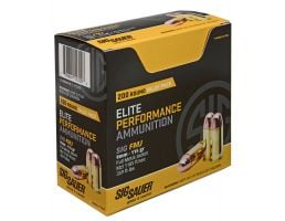 Sig Sauer Elite Ball 115 gr Full Metal Jacket 9mm Ammo, 200 Rounds - E9MME1200