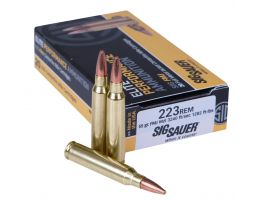 Sig Sauer Elite Ball 55 gr Full Metal Jacket .223 Rem Ammo, 20/box - E223B120
