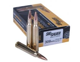 Sig Sauer Elite Ball 150 gr Full Metal Jacket .308 Win Ammo, 20/box - E308B120