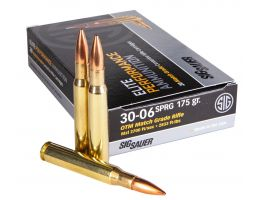 Sig Sauer Elite Match 175 gr Open Tip Match .30-06 Spfld Ammo, 20/box - E3006M220