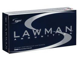 Speer Lawman Training 125 gr Total Metal Jacket .357 Sig Ammo, 50/box - 53919