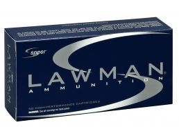 Speer Lawman Clean-Fire Training 125 gr Total Metal Jacket .357 Sig Ammo, 50/box - 54232