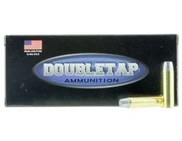 DoubleTap Ammunition DT Hunter 200 gr Wide Flat Nose Gas Check Hard Cast Solid .357 Mag Ammo, 20/box - 357M200HC