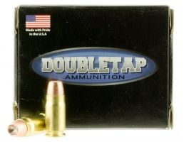 DoubleTap Ammunition DT Defense 125 gr Bonded Defense Jacketed Hollow Point .357 Sig Ammo, 20/box - 357S125BD