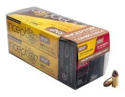 Inceptor Sport & Carry 60, 56 gr ARX/RNP .380 ACP Ammo, 125/box - 380RNPARX