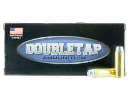 DoubleTap Ammunition DT Hunter 255 gr Keith-Style Hard Cast Semi-Wad Cutter .45 Colt +P Ammo, 20/box - 45P255HC