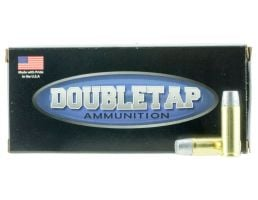 DoubleTap Ammunition DT Hunter 360 gr Wide Flat Nose Gas Checked Hard Cast .45 Colt +P Ammo, 20/box - 45P360HC