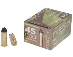 Inceptor Preferred Hunting 157 gr UM1 ARX .45 Colt Ammo, 20/box - 45CARXUMBR15