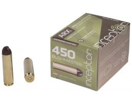 Inceptor Preferred Hunting 158 gr ARX .450 Ammo, 20/box - 450BMARXBR15