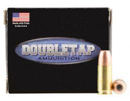 DoubleTap Ammunition DT Defense 124 gr Bonded Defense Jacketed Hollow Point 9mm +P Ammo, 20/box - 9MM124BD