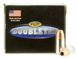 DoubleTap Ammunition DT Defense 165 gr Jacketed Hollow Point 9mm +P Ammo, 20/box - 9MM165EQ