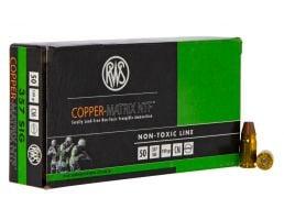Geco RWS Copper Matrix 100 gr Non-Toxic Frangible .357 Sig Ammo, 50/box - 235740050
