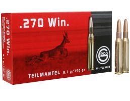 Geco Teilmantel 140 gr Soft Point .270 Win Ammo, 20/box - 282240020