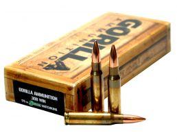 Gorilla Ammunition 175 gr Sierra MatchKing .308 Win Ammo, 20/box - GA308175SMK