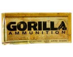 Gorilla Ammunition 165 gr Sierra GameKing .308 Win Ammo, 20/box - GA308165SGK