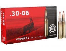Geco Express 165 gr Express Tip .30-06 Spfld Ammo, 20/box - 280640020