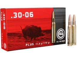 Geco 170 gr Plus .30-06 Spfld Ammo, 20/box - 280740020