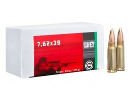 Geco Target 124 gr Full Metal Jacket 7.62x39mm Ammo, 20/box - 265840020