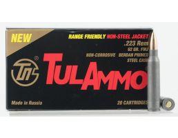 Tulammo 62 gr Full Metal Jacket .223 Rem Ammo, 20/box - TA223625