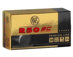 RWS Rottweil R 50 Short Case 40 gr Lead Hollow Point .22lr Ammo, 50/pack - 2318602
