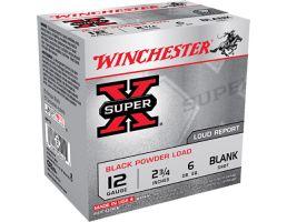 "Winchester Ammunition Super-X Black Powder Load 2.75"" 12 Gauge Ammo, 25/box - XBP12"