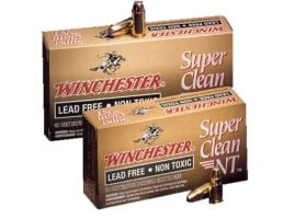 Winchester Ammunition Super Clean 105 gr Jacketed Flat Point 9mm Ammo, 50/box - SC9NT