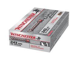 Winchester Ammunition Varmint-X 58 gr Rapid Expansion .243 Win Ammo, 40/box - X243PXL