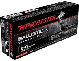Winchester Ammunition Ballistic Silvertip 95 gr Polymer Tip .243 WSSM Ammo, 20/box - SBST243SSA