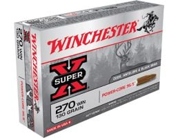 Winchester Ammunition Super-X 130 gr Power-Core .270 Win Ammo, 20/box - X270WLF