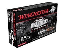 Winchester Ammunition Expedition Big Game Long Range 150 gr Accubond LR .270 Win Ammo, 20/box - S270LR