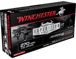 Winchester Ammunition Expedition Big Game 140 gr AccuBond CT .270 WSM Ammo, 20/box - S270WSMCT