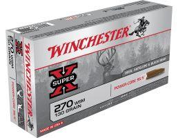 Winchester Ammunition Super-X 130 gr Power-Core .270 WSM Ammo, 20/box - X270WSMLF