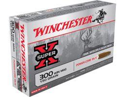 Winchester Ammunition Super-X 150 gr Power-Core .300 Win Mag Ammo, 20/box - X300WMLF
