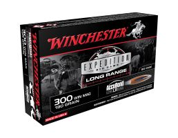 Winchester Ammunition Expedition Big Game Long Range 190 gr Accubond LR .300 Win Mag Ammo, 20/box - S300LR