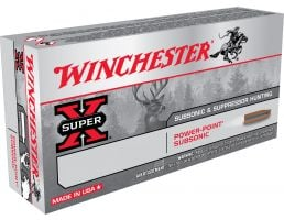 Winchester Ammunition Super-X 185 gr Power-Point Subsonic .308 Win Ammo, 20/box - X308SUBX