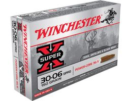 Winchester Ammunition Super-X 150 gr Power-Core .30-06 Spfld Ammo, 20/box - X3006LF