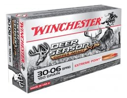 Winchester Ammunition Deer Season XP Copper Impact 150 gr Copper Extreme Point .30-06 Spfld Ammo, 20/box - X3006DSLF
