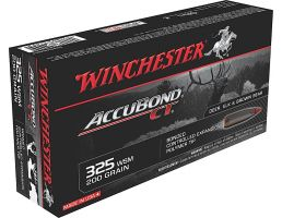 Winchester Ammunition Expedition Big Game 200 gr AccuBond CT .325 WSM Ammo, 20/box - S325WSMCT