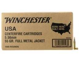 Winchester Ammunition USA 55 gr Full Metal Jacket 5.56 Ammo, 1000/box - USA556LK