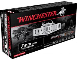 Winchester Ammunition Expedition Big Game 160 gr AccuBond CT 7mm WSM Ammo, 20/box - S7MMWSMCT