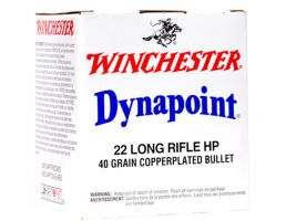 Winchester Ammunition USA 40 gr Copper-Plated Hollow Point .22lr Ammo, 500/box - WD22LRB